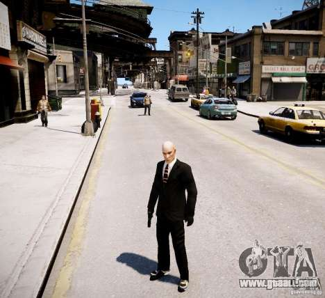 Hitman Blood Money Skin for GTA 4 forth screenshot