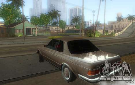 Mercedes Benz 280 CE W123 1986 for GTA San Andreas left view