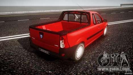 Dacia Logan Pick-up ELIA tuned for GTA 4 upper view