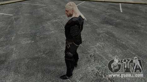 Geralt of Rivia v7 for GTA 4 forth screenshot
