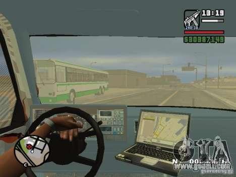 GMC Sierra Tow Truck for GTA San Andreas upper view