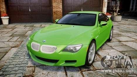 BMW M6 2010 v1.0 for GTA 4