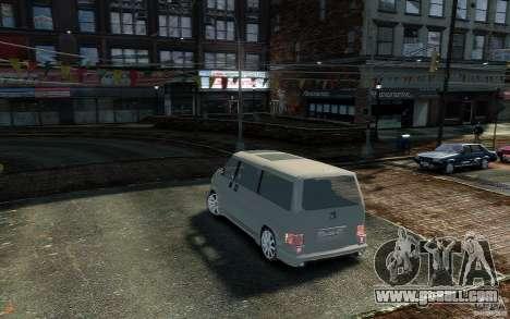Volkswagen Transporter T4 for GTA 4 left view