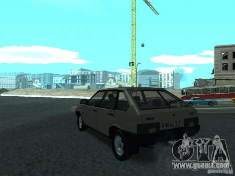 VAZ 2109 CR v. 2 for GTA San Andreas back left view