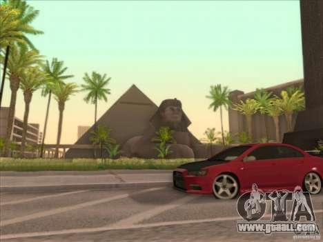 SGR ENB Settings for GTA San Andreas sixth screenshot