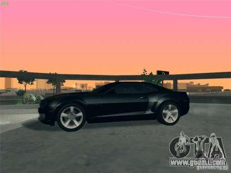 Chevrolet Camaro SS for GTA San Andreas upper view