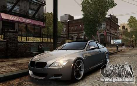 BMW M6 Coupe E63 2010 for GTA 4
