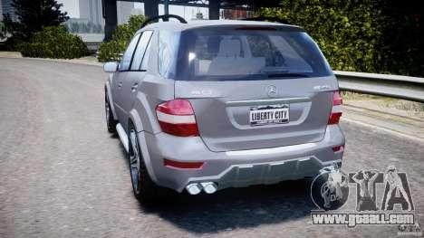 Mercedes-Benz ML63 AMG v2.0 for GTA 4 back left view