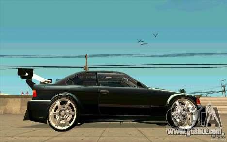 NFS:MW Wheel Pack for GTA San Andreas second screenshot