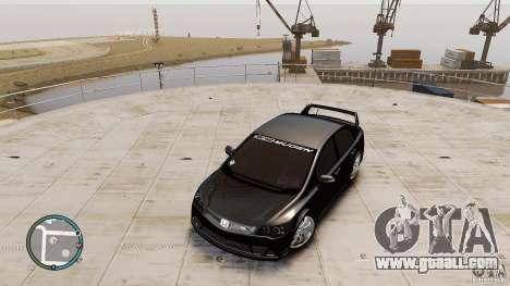 Honda Civic Mugen RR for GTA 4 right view