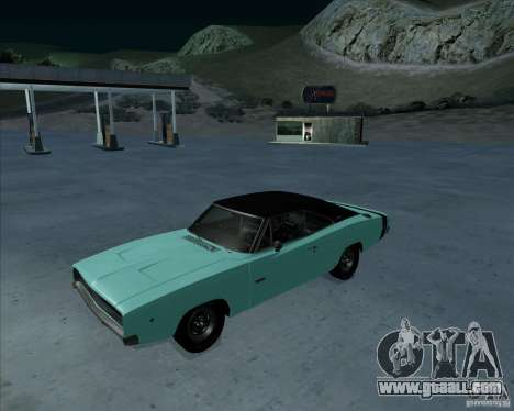 Dodge Charger RT HEMI 1968 for GTA San Andreas