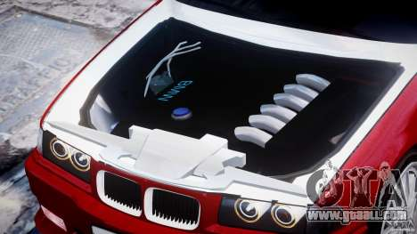 BMW 318i Light Tuning v1.1 for GTA 4 side view