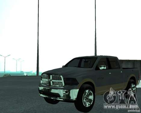 Dodge Ram Hemi for GTA San Andreas right view