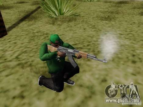 AK-47 of Saints Row 2 for GTA San Andreas third screenshot
