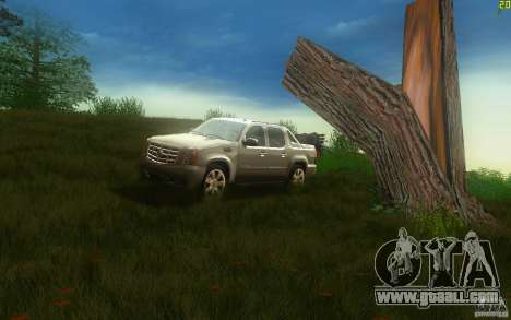 Cadillac Escalade EXT for GTA San Andreas left view