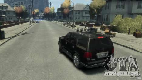 Lincoln Navigator for GTA 4 left view