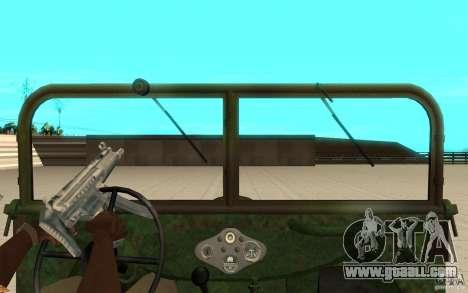 Gaz-64 skin 2 for GTA San Andreas right view