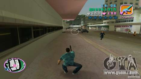 Shooting With One Hand for GTA Vice City third screenshot