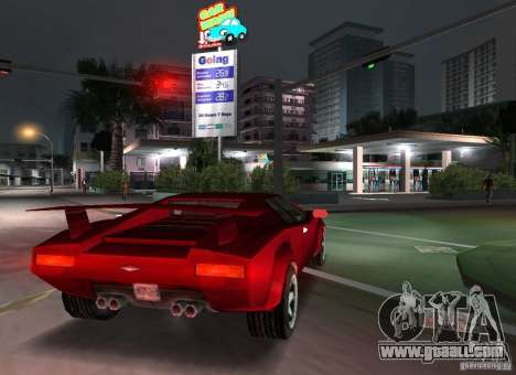 Infernus BETA for GTA Vice City right view