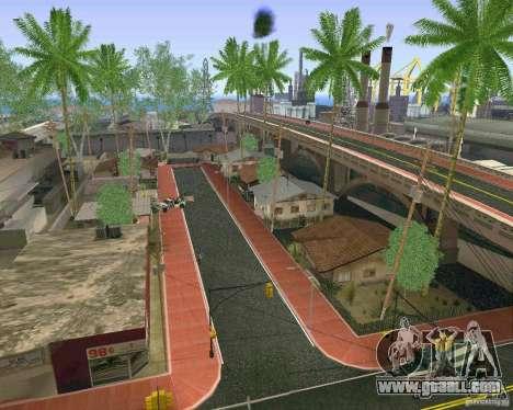 New Textures Of Los Santos for GTA San Andreas fifth screenshot