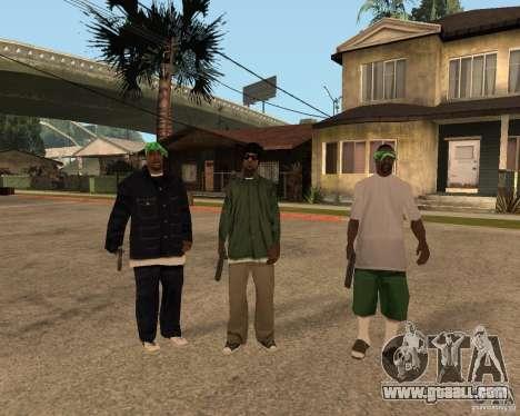Ballasy's Grove for GTA San Andreas