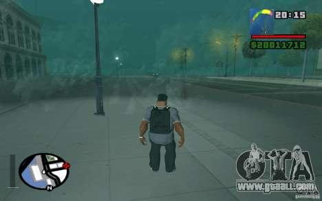 The new parachute for GTA San Andreas third screenshot