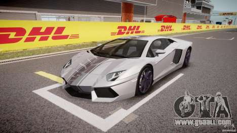 Lamborghini Aventador LP700-4 2011 [EPM] for GTA 4