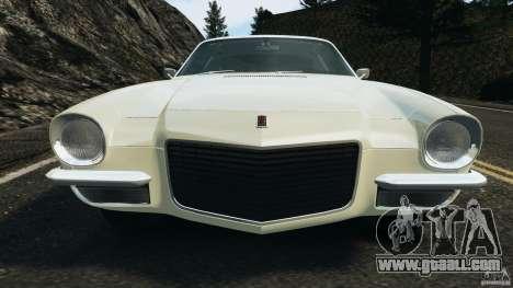 Chevrolet Camaro 1970 v1.0 for GTA 4 wheels