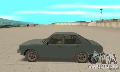 Mitsubishi Galant Sigma 1980 for GTA San Andreas left view