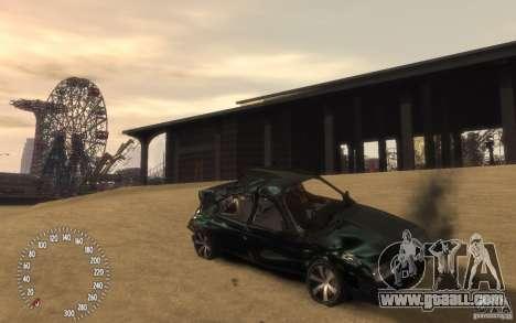 VAZ 21099 Duplet for GTA 4 bottom view