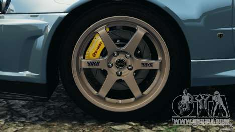 Nissan Skyline GT-R R34 2002 v1.0 for GTA 4 interior