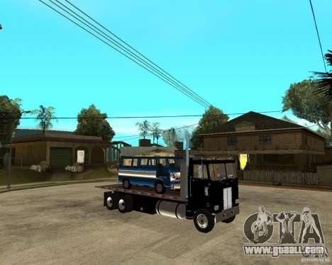 Peterbilt for GTA San Andreas right view