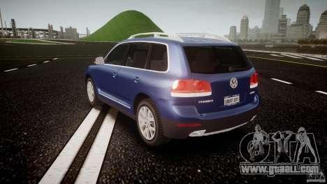 Volkswagen Touareg 2008 TDI for GTA 4 back left view