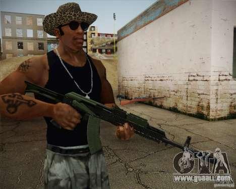 AK-47 for GTA San Andreas second screenshot
