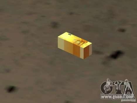 Euro money mod v 1.5 50 euros II for GTA San Andreas
