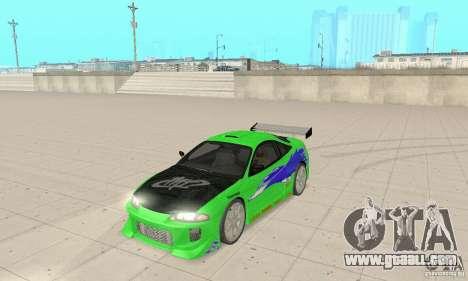 Mitsubishi Eclipse FnF for GTA San Andreas