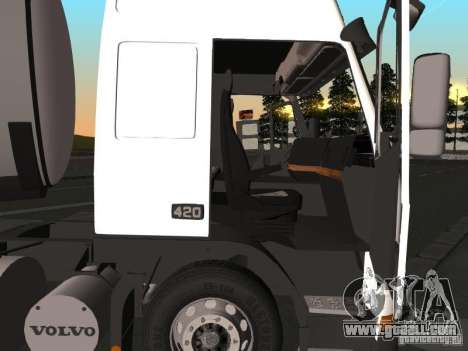 Volvo FM12 for GTA San Andreas back left view
