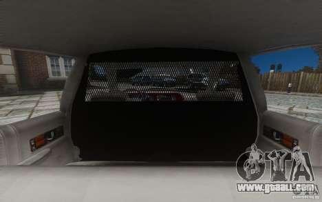 Chevrolet Caprice 1991 Police for GTA 4 wheels