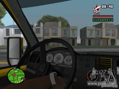 Active dashboard for GTA San Andreas second screenshot