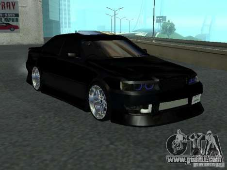 Toyota Chaser JZX 100 Tunable for GTA San Andreas back left view