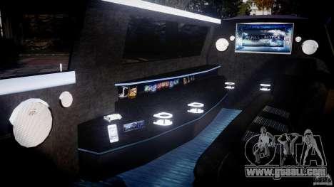 Rolls Royce Phantom Sapphire Limousine Disco for GTA 4 inner view