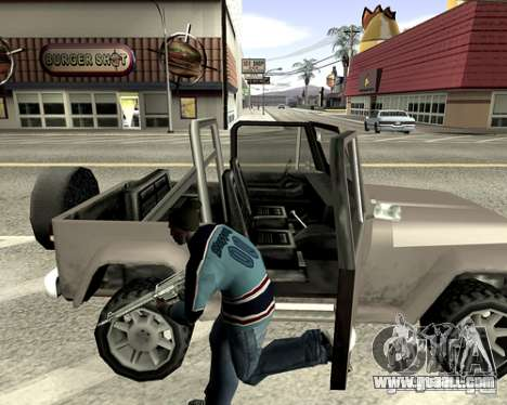 System cover for GTA San Andreas