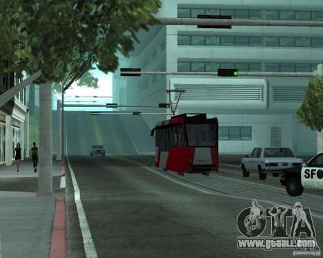 LM-2008 for GTA San Andreas back view