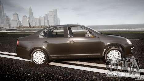 Volkswagen Jetta 2008 for GTA 4 inner view