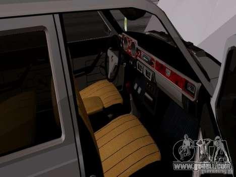 GAZ 24-12 SL Volga for GTA San Andreas back view