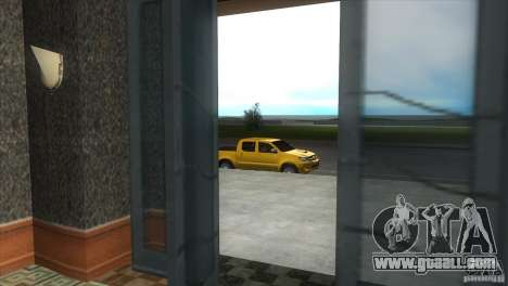 Toyota Hilux SRV 4x4 for GTA Vice City inner view
