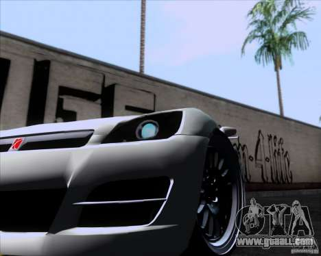 Saturn Sky Roadster for GTA San Andreas back left view