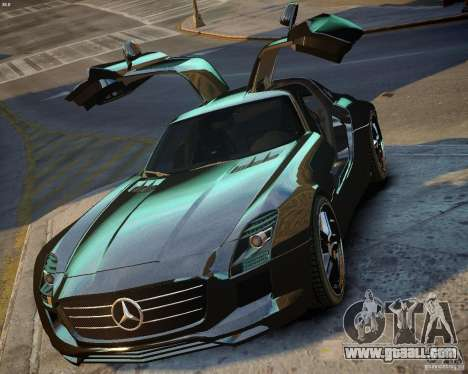 Mercedes SLS Extreme for GTA 4