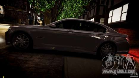 BMW 750Li Sedan ASANTI for GTA 4 engine