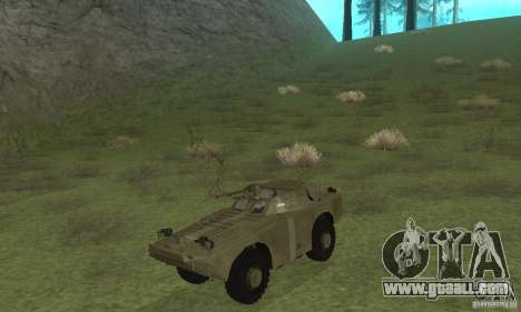 BRDM-1 Skin 2 for GTA San Andreas left view
